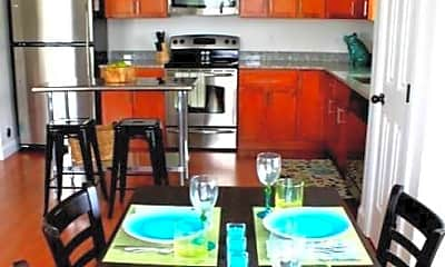 Kitchen, Waters View Apartments, 2
