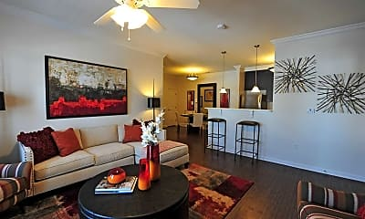 Living Room, Clairmont At Chesterfield, 1