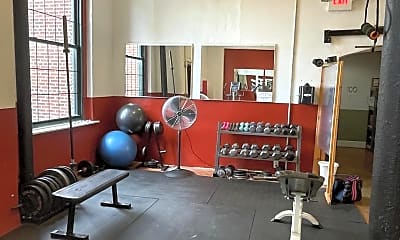 Fitness Weight Room, 200 Lincoln Ave 315, 2