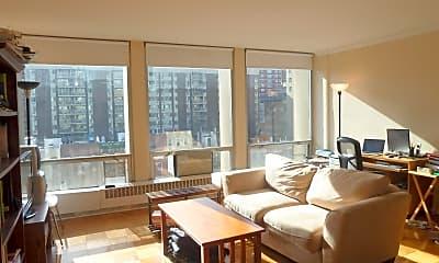 Living Room, 343 E 30th St 8-D, 0