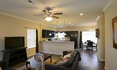 Living Room, Aspen Heights Columbia, 1