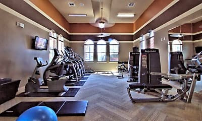Fitness Weight Room, Enclave At Hometown, 1