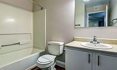 Bathroom, Sunrise Springs Apartments, 2