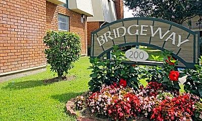 Community Signage, Bridgeway I Apartment Homes, 2