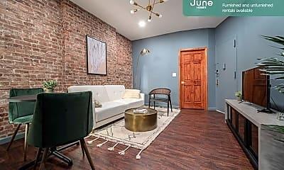 Living Room, 225 E 83rd St, 1