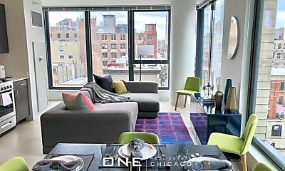 Living Room, 156 W Superior St, 1
