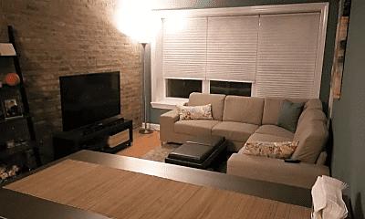 Living Room, 3808 W Belle Plaine Ave, 1