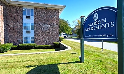 Community Signage, Warren Apartments, 2