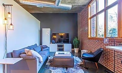 Living Room, 640 Glen Iris Dr NE 309, 1