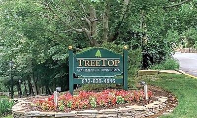 Community Signage, Treetops Apartments, 0