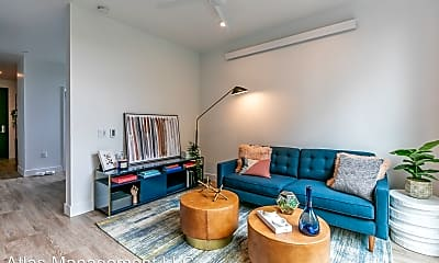 Living Room, Abernethy Flats Apartments, 1