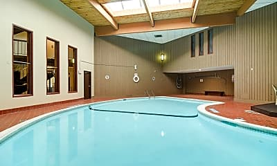 Pool, Eagle Pointe Apartments, 1