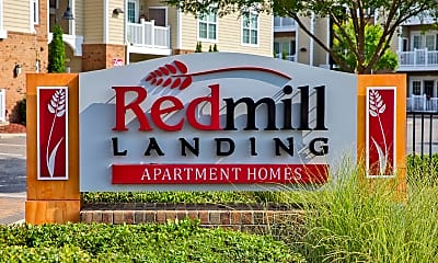 Community Signage, Red Mill Landing, 1