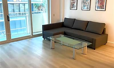 Living Room, 9499 Collins Ave 309, 0