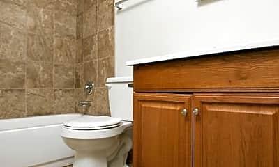 Bathroom, Spring Ridge Apartments, 2