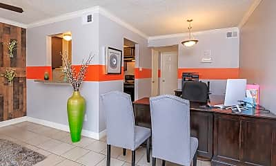 Dining Room, 9600 Braes Bayou Dr, 2