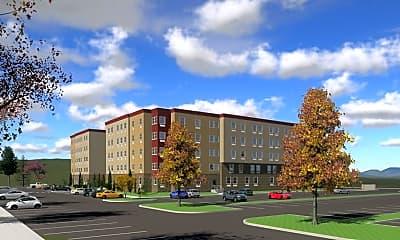 Building, Advantage Point Student Apartments, 1