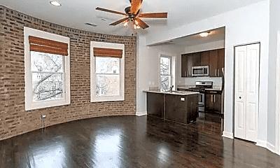 Living Room, 2608 N Whipple St, 1