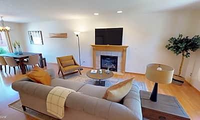 Living Room, 5418 NE 25th Ave, 0
