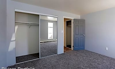 Bedroom, Riviera Apartments, 1