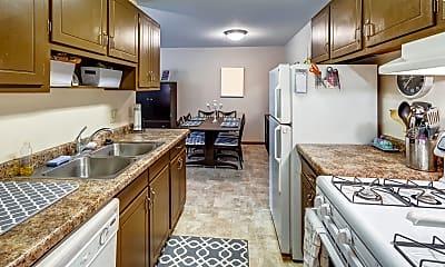 Kitchen, New Brighton View Apartments, 0