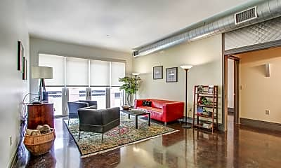 Living Room, The Flats At Southside Works, 1