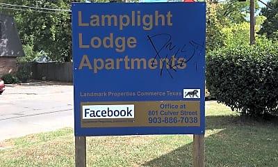 Lamplight Lodge Apartments, 1