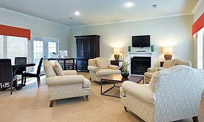 Living Room, Colonial Village At Waters Edge, 1