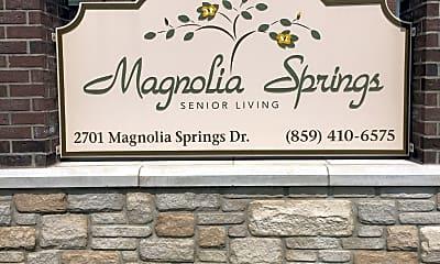 Magnolia Springs Apartments, 1