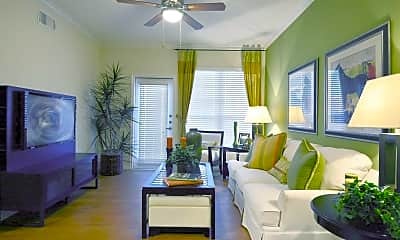 Living Room, Stone Creek Apartments, 1