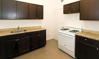Kitchen, Harper Court Apartments, 1
