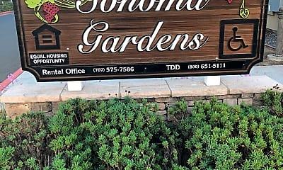 Sonoma Gardens Apartment Complex, 1