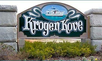 Community Signage, Krogen Kove Townhomes, 2