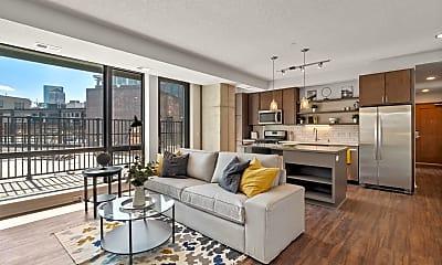 Living Room, 811 S Washington Ave 815, 0