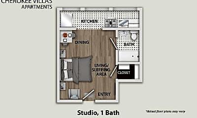 Bathroom, 1733 N Cherokee Ave, 2