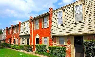 Building, Towne Oaks Apartments, 0