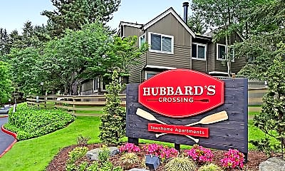 Community Signage, Hubbard's Crossing Townhome Apartments, 2