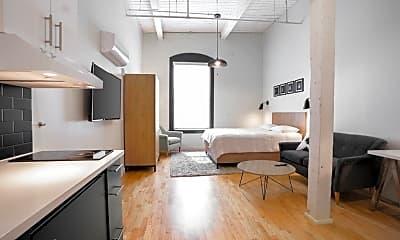 Living Room, 196 Trumbull St 505, 1