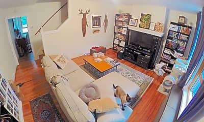 Living Room, 608 Worth St, 1