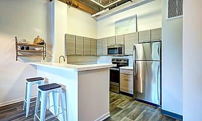 Kitchen, Amazon Apartments, 1
