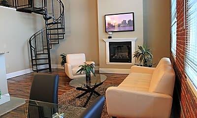 Living Room, 195 McGregor St 447, 2