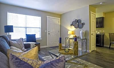 Living Room, Bennett Pointe Apartments, 1