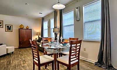 Dining Room, Orchard Ridge Apartments, 1