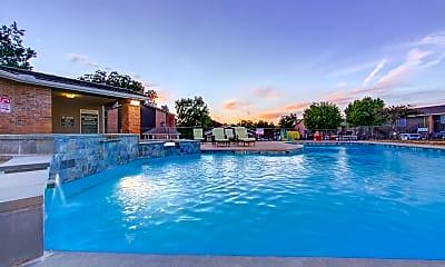 Pool, Mark at 2600, 0