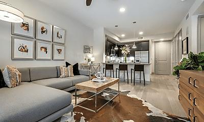 Living Room, 1414 Texas St, 1