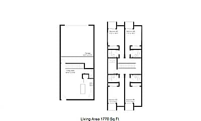 Bedroom, 1330 E Drachman St, 2