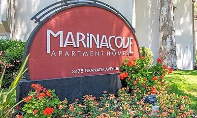 Community Signage, Marina Cove, 1