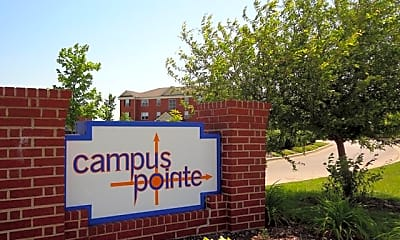 Community Signage, Campus Pointe Apartments, 0