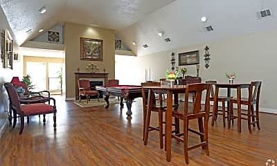 Dining Room, Pecan Acres Apartments, 2