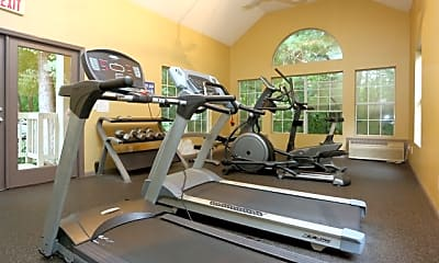 Fitness Weight Room, Jefferson Point, 1